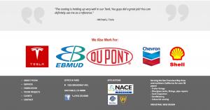 Industrial Manufacturing Web Design