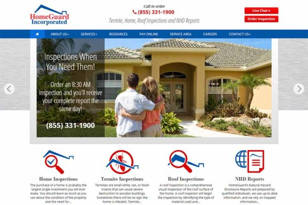 Home Inspection Web Design | Web Design
