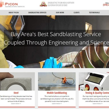 WordPress Website for Industrial Services Company Launched