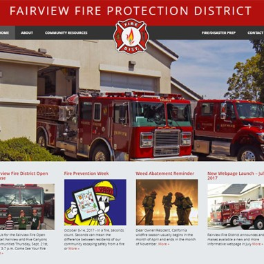 New Fire District WordPress Website Launched by KO Websites