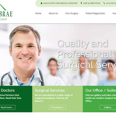 New WordPress Website for Bay Area Medical Center