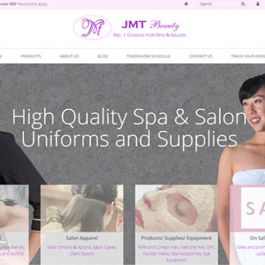 New Mobile Responsive Website For JMT Beauty