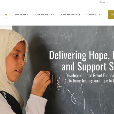 New Website for Iraqi Development and Relief Foundation Benefits from SEO Work