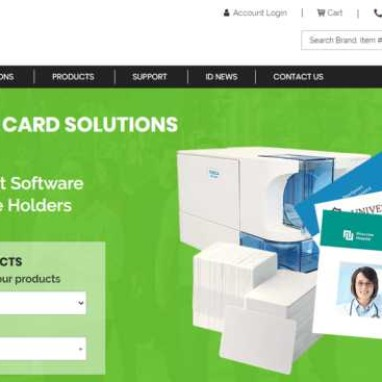 WordPress and WooCommerce Perfect Solution for ID Printing Company