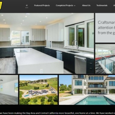 General Contractor Wehrli Custom Homes Builds New WordPress Website