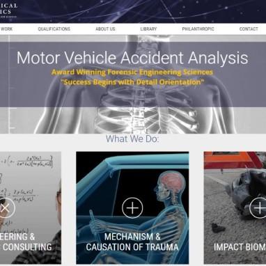 Medical Engineering Company Tabs KO Websites and WordPress