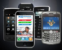 Mobile web design marketing