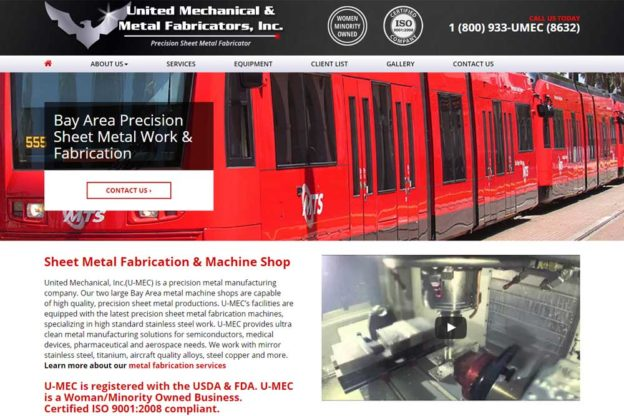 Machine Shops Web Design