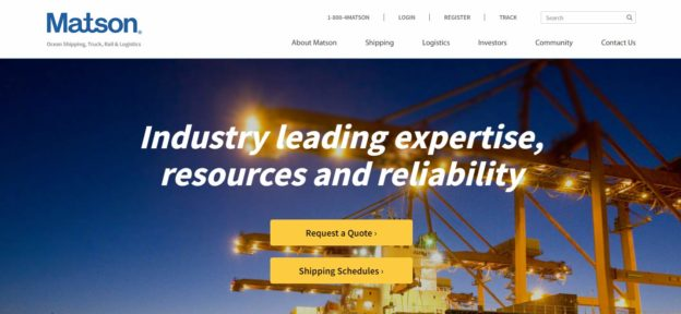 KO Websites Launches New WordPress Website for Matson | Web