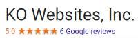 ko web design bay area reviews