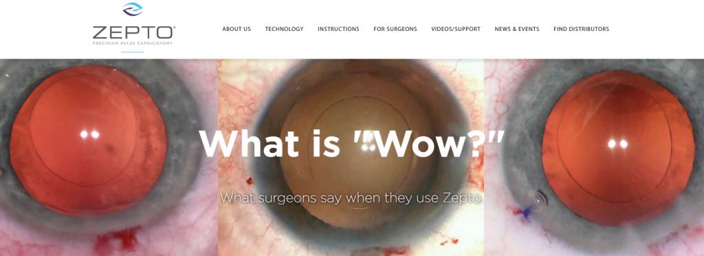 Zepto PCS New Product Launch KO Websites