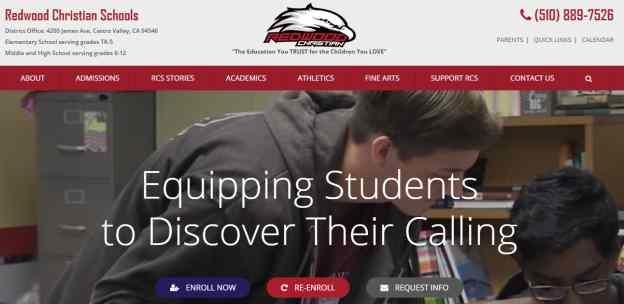 private schools web design