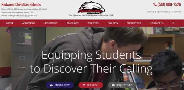 Ko Websites Launches New Private School Website Web Design