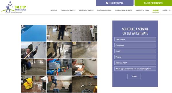 KO Websites WordPress Gallery One Stop Maintenance