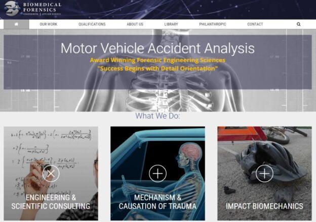 Applied Science Engineers KO Website WordPress Design